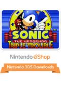 Sonic the Hedgehog: Triple Trouble Nintendo 3DS Front Cover