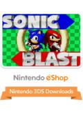 Sonic Blast Nintendo 3DS Front Cover