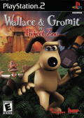 Wallace & Gromit in Project Zoo PlayStation 2 Front Cover