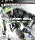 Tom Clancy's Splinter Cell: Blacklist PlayStation 3 Front Cover
