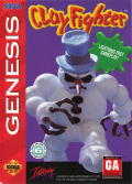 Clay Fighter Genesis Front Cover
