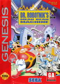 Dr. Robotnik's Mean Bean Machine Genesis Front Cover