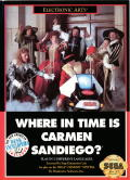 Where in Time Is Carmen Sandiego? Genesis Front Cover