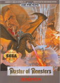 Master of Monsters Genesis Front Cover