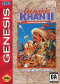 Genghis Khan II: Clan of the Gray Wolf Genesis Front Cover