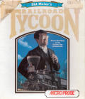 Sid Meier's Railroad Tycoon Atari ST Front Cover