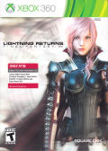 Lightning Returns: Final Fantasy XIII Xbox 360 Front Cover