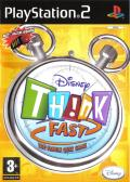 Disney Th!nk Fast PlayStation 2 Front Cover