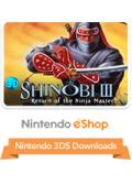 Shinobi III: Return of the Ninja Master Nintendo 3DS Front Cover