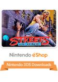 Streets of Rage Nintendo 3DS Front Cover