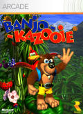 Banjo-Kazooie Xbox 360 Front Cover first version