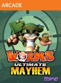 Worms: Ultimate Mayhem Xbox 360 Front Cover
