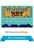Solomon's Key Wii U Front Cover