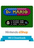 Dr. Mario Wii U Front Cover