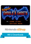 Super Ghouls 'N Ghosts Wii U Front Cover