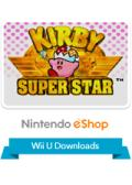 Kirby Super Star Wii U Front Cover