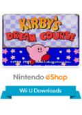 Kirby's Dream Course Wii U Front Cover