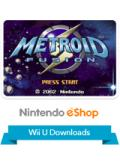 Metroid Fusion Wii U Front Cover