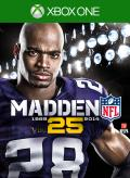 Madden NFL 25 Xbox One Front Cover 1st cover