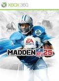 Madden NFL 25 Xbox 360 Front Cover