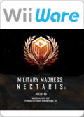 Military Madness: Nectaris Wii Front Cover