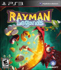 Rayman Legends PlayStation 3 Front Cover