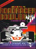 Roadracer Bowler Atari 8-bit Front Cover