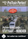 ProTrain Perfect AddOn 3: Stuttgart-München Windows Front Cover