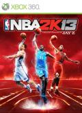 NBA 2K13 Xbox 360 Front Cover