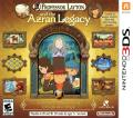 Professor Layton and the Azran Legacy Nintendo 3DS Front Cover