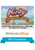 Kirby & The Amazing Mirror Wii U Front Cover