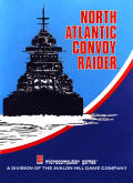 North Atlantic Convoy Raider Apple II Front Cover