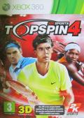 Top Spin 4 Xbox 360 Front Cover