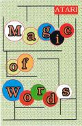 Magic of  Words Atari 8-bit Front Cover