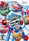 Hasbro Family Game Night 3 Wii Front Cover