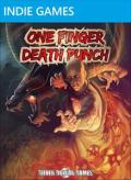 One Finger Death Punch Xbox 360 Front Cover