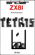 Tetris ZX81 Front Cover