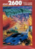 Fatal Run Atari 2600 Front Cover