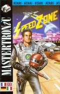 Speed Zone Atari 8-bit Front Cover