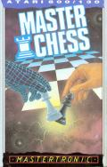 Master Chess Atari 8-bit Front Cover