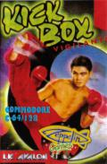 Kick Box Vigilante Commodore 64 Front Cover