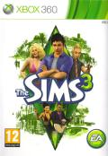 The Sims 3 Xbox 360 Front Cover