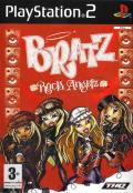 Bratz: Rock Angelz PlayStation 2 Front Cover