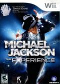 Michael Jackson: The Experience Wii Front Cover