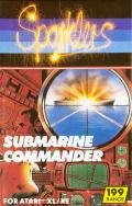 Submarine Commander Atari 8-bit Front Cover