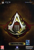 Assassin's Creed III (Freedom Edition) PlayStation 3 Front Cover