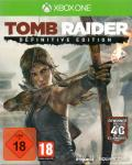 Tomb Raider: Definitive Edition Xbox One Front Cover
