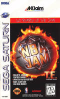 NBA Jam Tournament Edition SEGA Saturn Front Cover