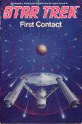 Star Trek: First Contact Apple II Front Cover
