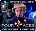 Mystery Trackers: Four Aces (Colector's Edition) Macintosh Front Cover